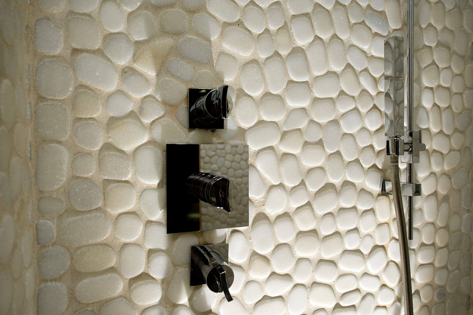 Stein mosaik fliesen - Fliesen mosaik kuche ...